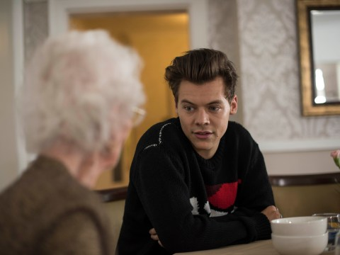 Harry Styles can't even give his album away at elderly care home while playing bingo in BBC special