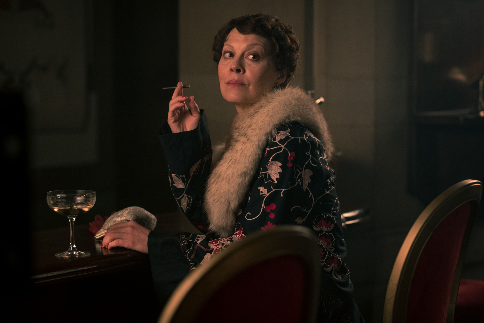 Peaky Blinders spoiler pics: Is Aunt Polly about to do a deal with the devil as she meets Luca Changretta?