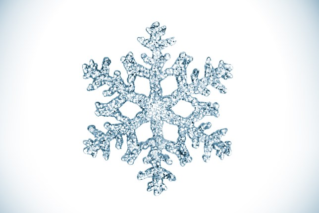 An isolated snowflake (Picture: Getty)