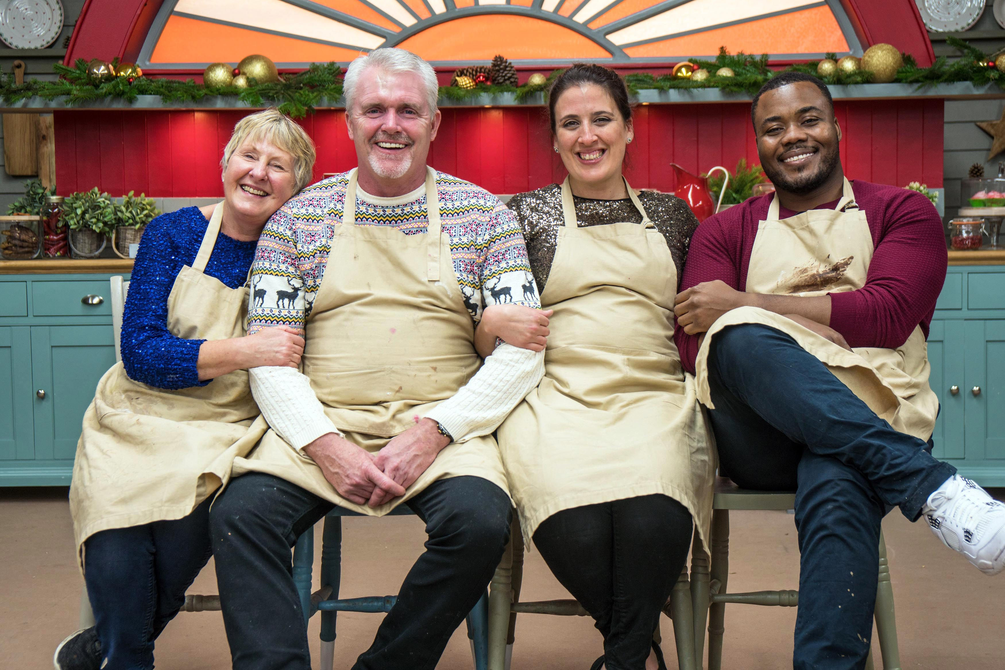 When are the Great British Bake Off Christmas Specials and who's appearing?