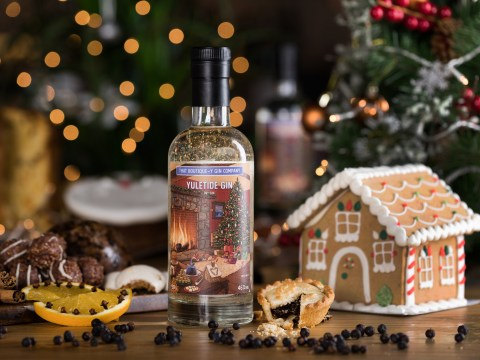 Christmas gin alert – is this gold, frankincense and myrrh spirit the most festive drink ever?