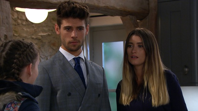 Debbie learns the truth about Tom in Emmerdale
