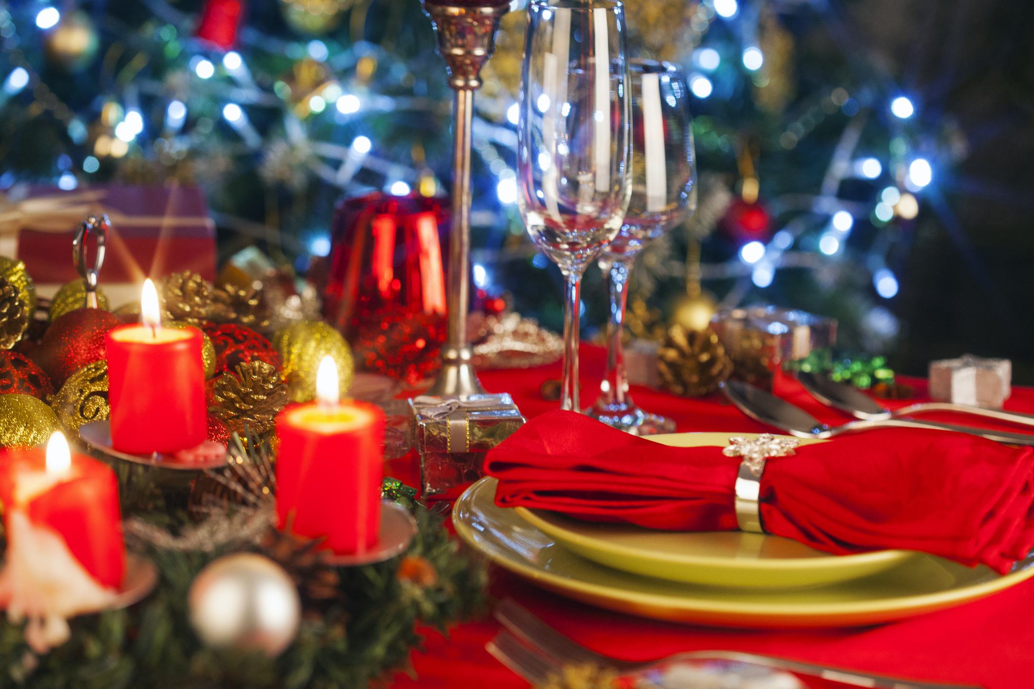 Gluten intolerant? You can still pile up your plates this Christmas. (Picture: Getty)