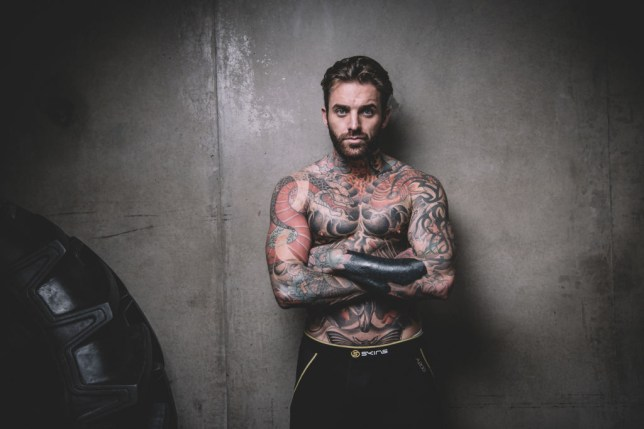 Aaron Chalmers poses for the camera
