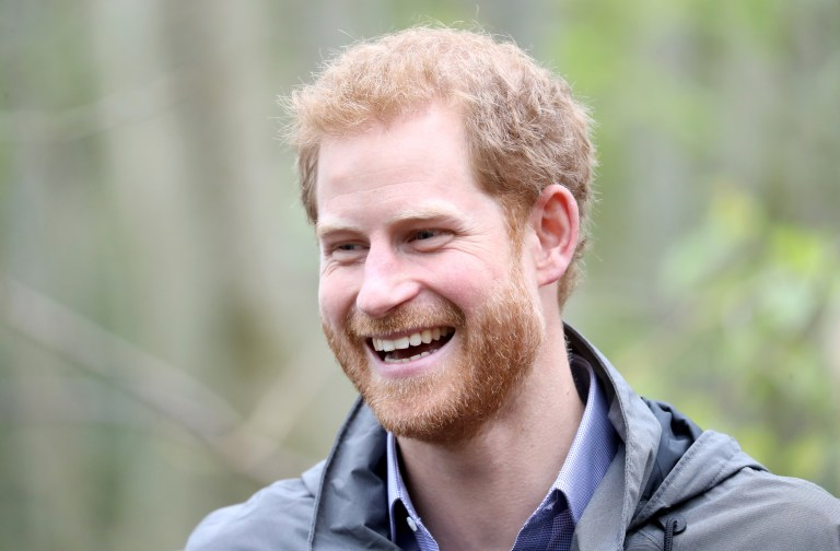 PRESTON, UNITED KINGDOM - OCTOBER 23: Prince Harry during a visit to Myplace at Brockholes Nature Reserve, a project which aims to empower young people by encouraging them to take action in environmental activities on October 23, 2017 in Preston, England. (Photo by Chris Jackson - WPA Pool/Getty Images)