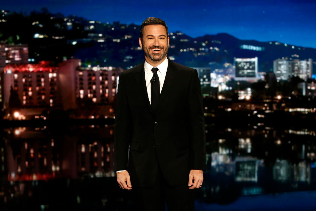 Where is Jimmy Kimmel and who is filling in on Jimmy Kimmel Live?