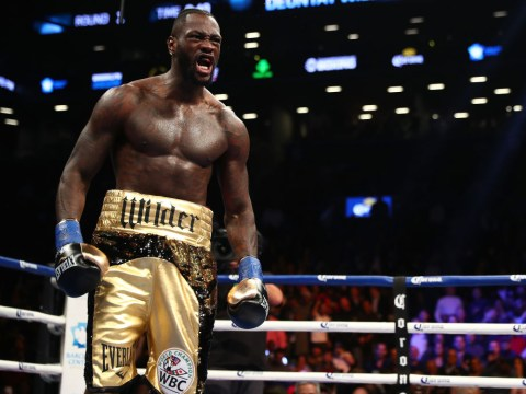 WBC heavyweight champion Deontay Wilder threatens to end Anthony Joshua's career