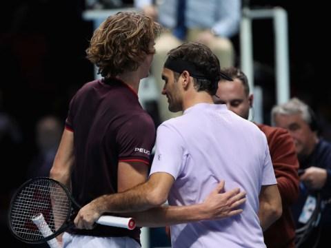Alexander Zverev explains how GOAT Roger Federer will always 'disturb' opponents