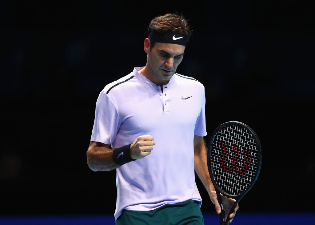 Growling Roger Federer shakes off Marin Cilic to seriously boost 2018 hopes of catching Rafael Nadal