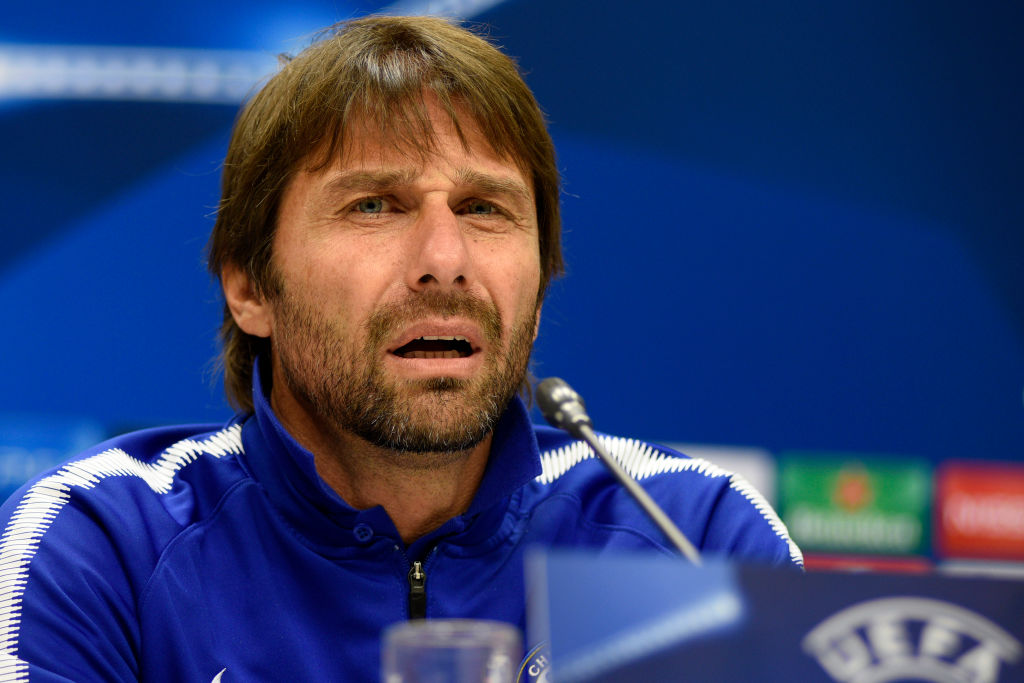 Antonio Conte responds to Edin Dzeko and Peter Crouch links and provides Chelsea transfer update