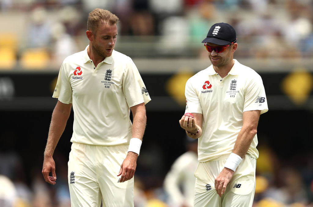 Ashes 2017: Stuart Broad plays down James Anderson injury fears