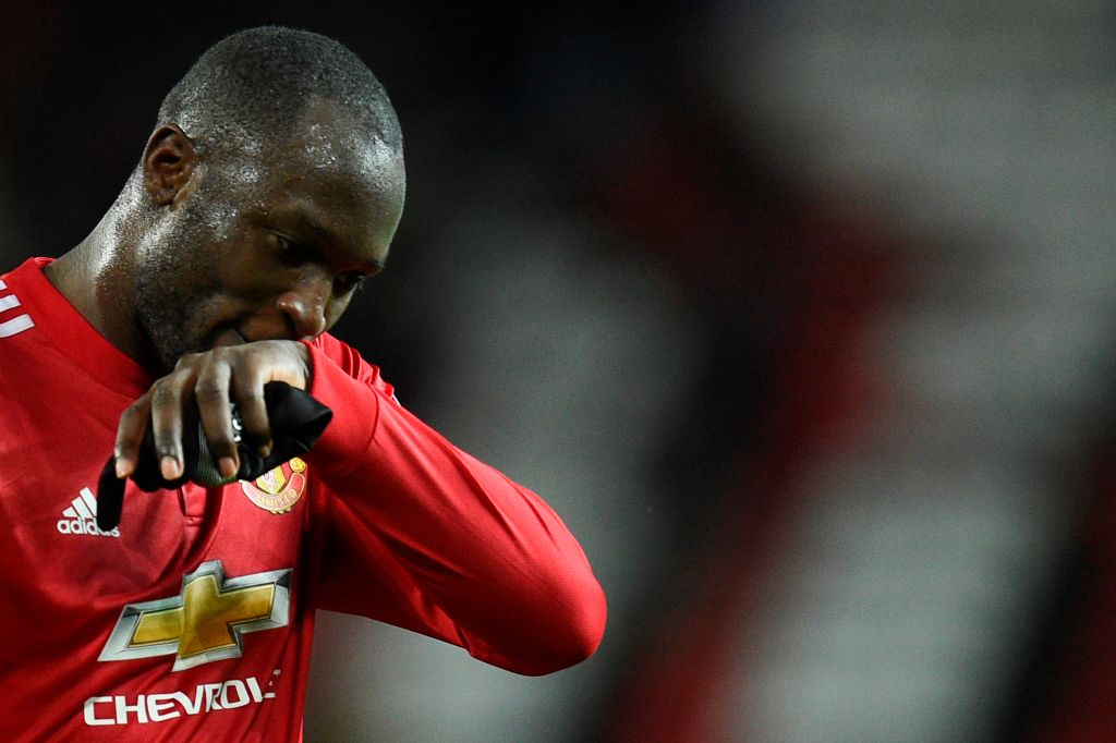 Manchester United striker Romelu Lukaku faces three-match ban for kicking out at Gaetan Bong