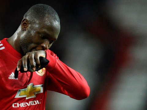 Manchester United striker Romelu Lukaku faces three-match ban for kicking out at Gaetan Bong