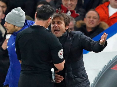 Antonio Conte apologises after sending off in Chelsea's defeat of Swansea