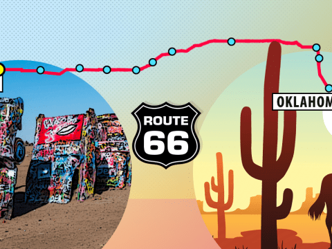 Route 66 – Oklahoma to Texas: Where to eat, what to see and what to do