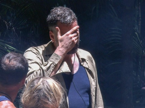 Iain Lee cries after quitting I'm A Celebrity's Temple of Gloom task