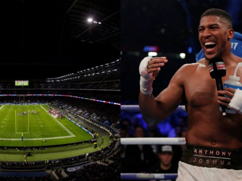Twickenham possible venue for Anthony Joshua's next fight, says Eddie Hearn