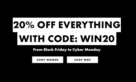 Get 20% off everything at ASOS for Black Friday with this