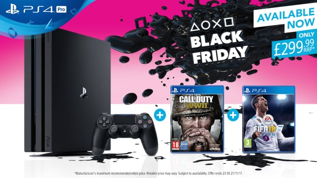 Ps4 Black Friday Deals Playstation Store Sales And Discounted Ps4 Bundles Metro News