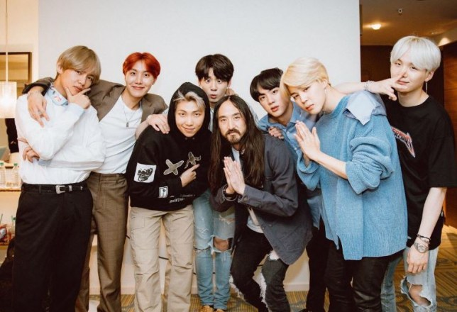 BTS Mic Drop remix with Steve Aoki and Desiigner video released
