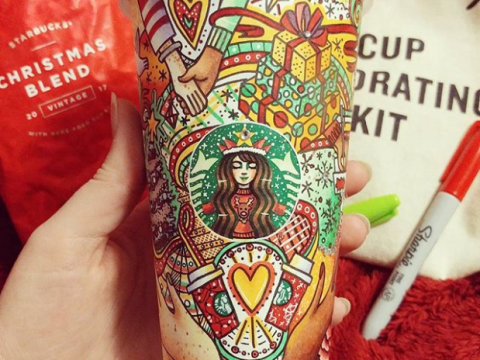 Women transforms Starbucks' cups into amazingly intricate works of art