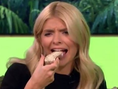 Holly Willoughby persuaded to eat cricket bread by Phillip Schofield and the regret was instant