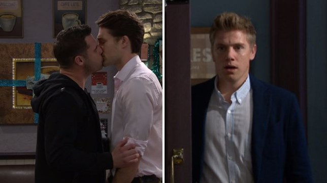 Robert Sugden sees Aaron Dingle kissing Dr Alex in Emmerdale spoiler