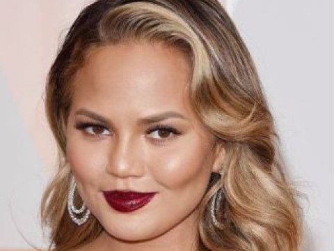 Chrissy Teigen trolls Victoria's Secret by photoshopping herself into snap of the Angels