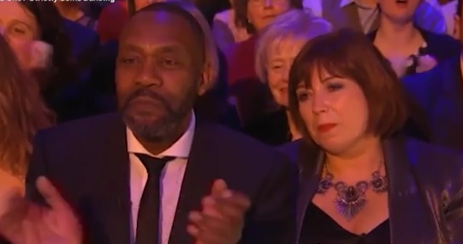 Lenny Henry and his Dawn French lookalike girlfriend had audiences confused on Strictly