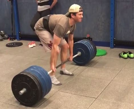 Donald Trump Jr's horrible deadlift sees people paying