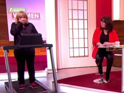 Linda Robson swearing while doing exercise on live TV is pretty relatable
