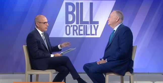 Matt Lauer grilling Bill O'Reilly over sexual harassment allegations is very uncomfortable now