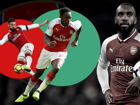 Arsene Wenger must replace Alexandre Lacazette with Danny Welbeck against Manchester United