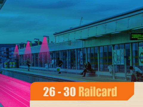 Can you get a 26 to 30 railcard if you're already 30?