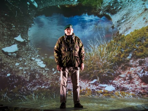 Minefield, Royal Court, review: Grim tales of war become a creative feast thanks to imaginative staging
