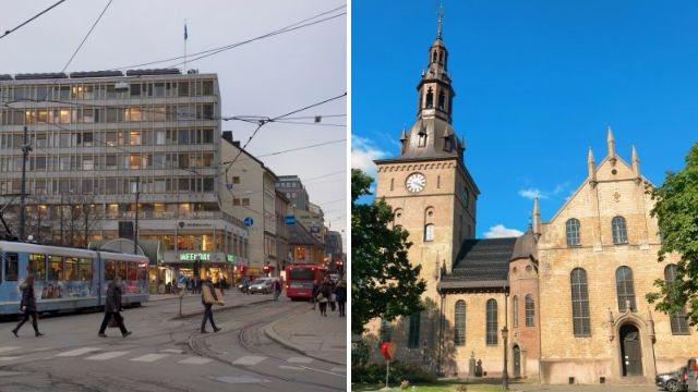 'Confused' man opens fire outside Oslo cathedral