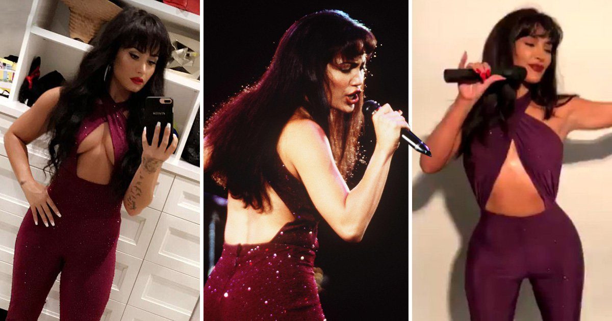 Who wore the iconic Selena outfit better – Kim Kardashian, Jennifer Lopez or Demi Lovato?