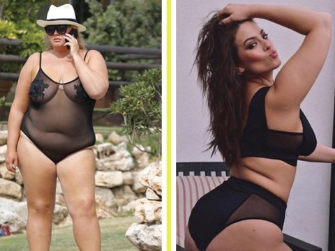 Plus-size ladies – from Gemma Collins to Ashley Graham – show how wearing mesh will never go out of fashion