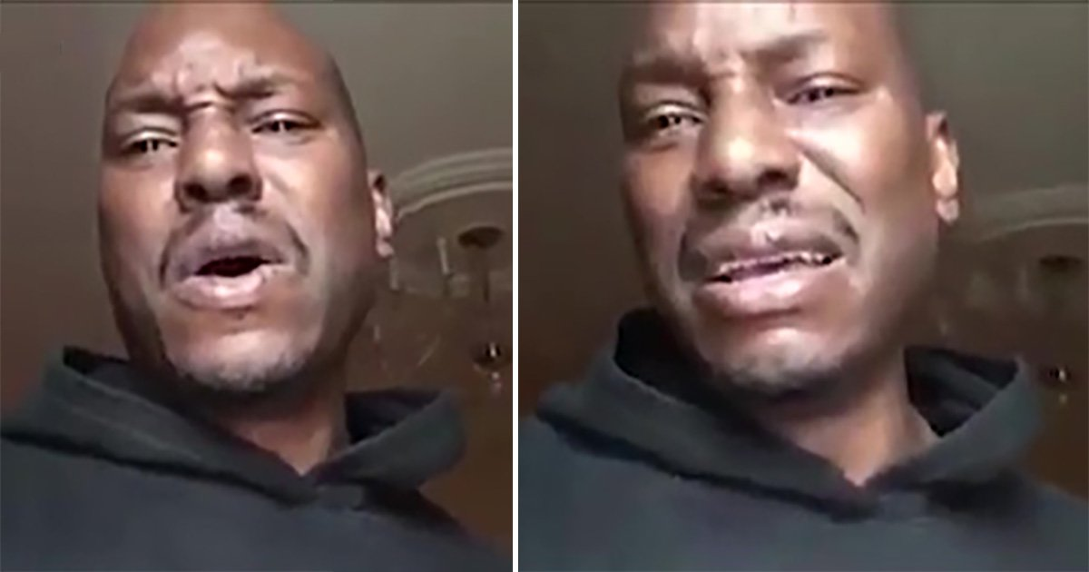 Tyrese Gibson breaks down in tears revealing he hasn't seen his daughter in two months amid legal battle
