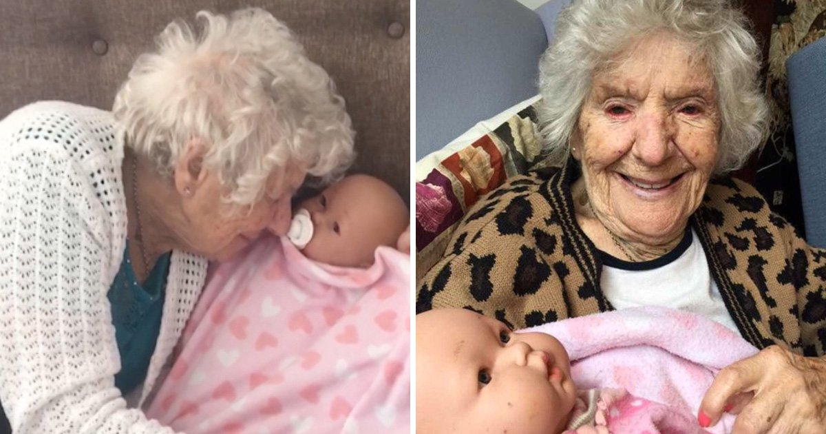 Family shares heartbreaking pictures of grandmother with dementia