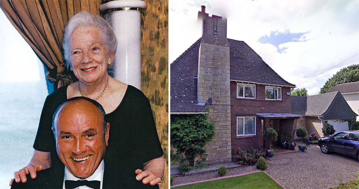 Couple died metres apart after both fell on their driveway on hottest day of the year