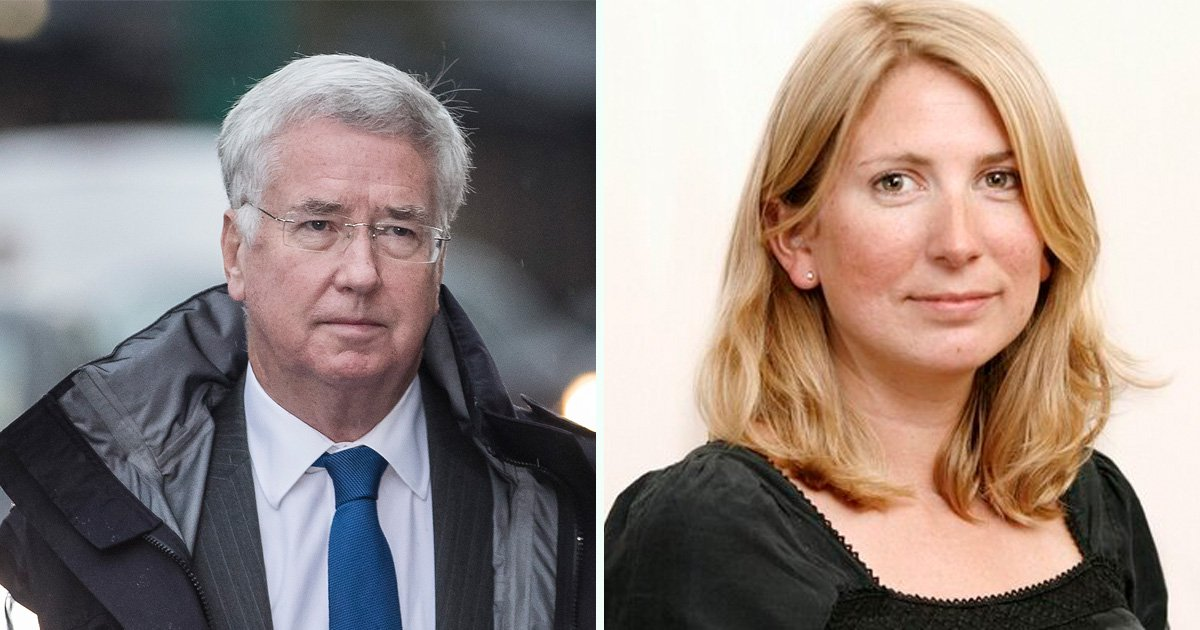 Michael Fallon 'lunged and tried to kiss' junior journalist