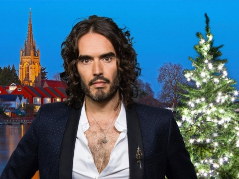 People are not happy about Russell Brand turning on town's Christmas lights