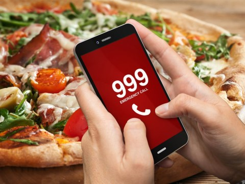 Someone called the police because their pizza topping was wrong