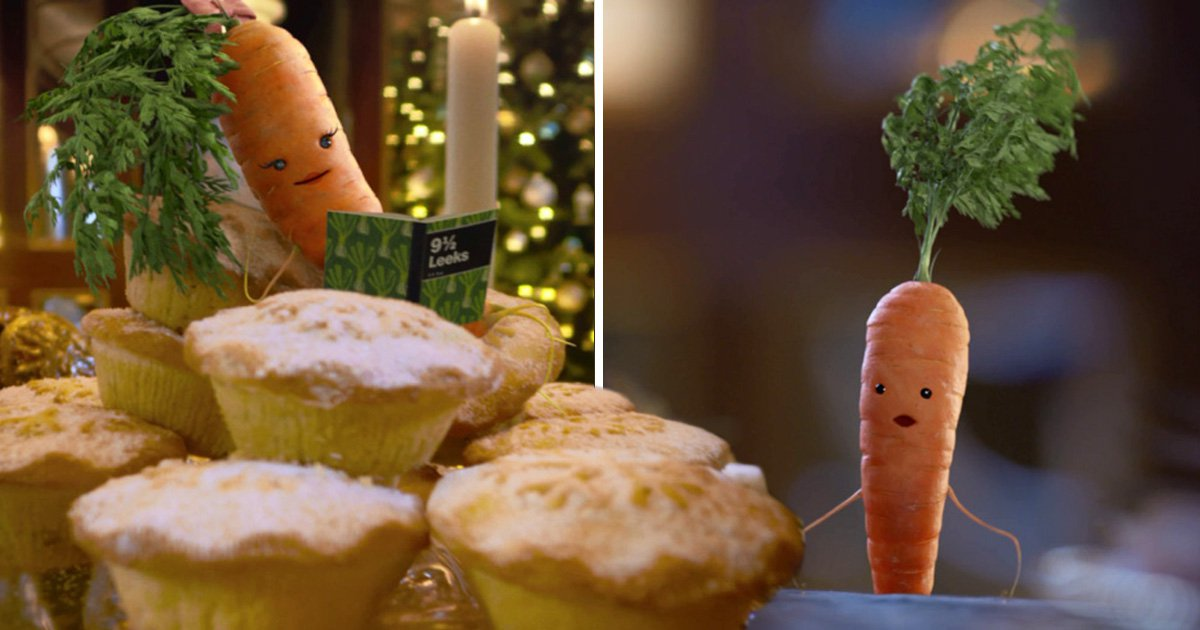 Aldi's 2017 Christmas advert brings us a sequel to Kevin The Carrot – and he's found love