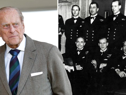 Prince Phillip's private stag-do pictures revealed after 70 years