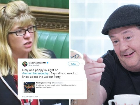 Tory MP probably regrets her 'point scoring' poppy tweet