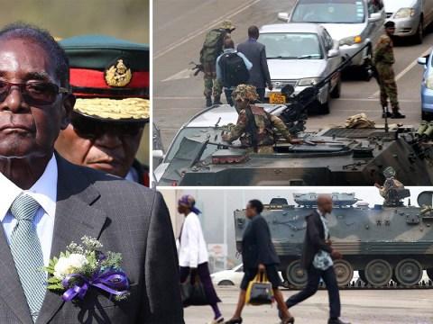 Robert Mugabe 'preparing to quit' as military takes over Zimbabwe