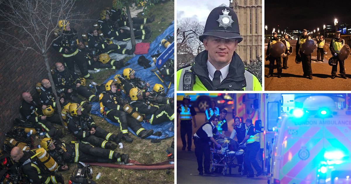 Blue Light Day celebrates heroic emergency services in year hit by terror