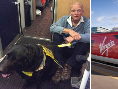 Blind man forced to sit on Virgin train floor as no one gave up disabled seats